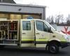 Der neue Gerätewagen Sanitätsdienst der Malteser in Bad Honnef. Foto: Malteser Bad Honnef.