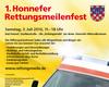 Plakat zum 1. Rettungsmeilenfest in Bad Honnef