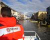 Die albanischen Malteser sind als Teil des Zivilschutzprogramms der Stadt Shkodra im Hochwasser-Dauereinsatz. Foto: Malteser Shkodra.