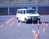 Der Geschicklichkeitsparcours ist so aufgebaut, dass Rangierübungen ohne Beschädigungen der Fahrzeuge in ausreichendem Maße geübt werden können. Foto: Malteser Schule Bonn.