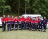 Die Führungs- und Einsatzkräfte im Katastrophenschutz beim Besuch im ehemaligen Ausweichsitz der Landesregierung NRW. Foto: Malteser Schule Bonn.