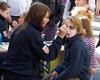 Heiß begehrt: die Malteser Jugend in Euskirchen schminkt die kleinen Besucher des Knollenfestes. Foto: André Bung, Malteser Euskirchen.