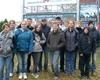 Die Theater-Gruppe der Stephanusschule Zülpich vor den Bavaria Filmstudion freut sich über den Gewinn bei
