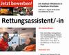 Die Malteser in NRW stellen neue Auszubildende zum Rettungsassistent/ Rettungsassistentin ein.