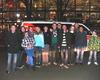 Die 15 Mitglieder der Malteser aus Meckenheim beim Besuch des Bundesligaspiels FC Köln gegen Hannover 96. Foto: Malteser Meckenheim
