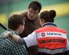 Eine Schulsanitäterin im Einsatz. Foto: Malteser