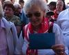 Am Mittwoch der Romwallfahrt ging es zum Petersplatz. Jeder Besucher hat ein Ticket erhalten für die Papstaudienz. Foto: DGS Köln