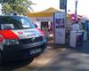 Der Stand der Notfallseelsorge und der NFSU-Gruppe beim NRW-Tag in Bonn. Foto: Ulf Krüger