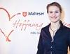 Die 29-jährige Spitzensportlerin im Degenfechten, Britta Heidemann, gewann die erste deutsche Olympiamedaille. Foto: Malteser Köln