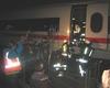 Übungsszenario: ein ICE mit 100 Passagieren ist bei Aegidienberg entgleist. Diese sowie die 20 dabei verletzten Personen müssen aus dem ICE befreit und versorgt werden. Foto: Malteser Rhein-Sieg-Kreis.