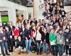 Gruppenfoto vom Fair Play-Jugendkongress 2012. Foto: Karsten Lindemann.