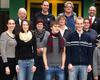 Drei neue Ausbilder und sechs neue Helfer wurden berufen, zwei langjährige Helfer geehrt. Präses Dr. Breuer (hintere Reihe links) und Stadtbeauftragter Dr. Archut (hintere Reihe rechts). Foto: Jens Midderhoff/Malteser Bad Honnef