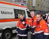 Einsatzkräfte der Kölner Malteser bei den Schul- und Veedelszügen. Foto: F. Hilgert / Malteser Köln