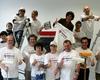 Die Mitarbeiter der BNP Paribas Leasing Solutions verschönerten die Begegnungsstätte für die Kinder und Erwachsenen aus der Nachbarschaft. Foto: DGS Köln
