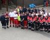 Das Malteser-Team der Leverkusener Bereitschaft bei der FIFA Damen Fußballweltmeisterschaft. Foto: Malteser Leverkusen