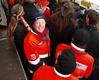 Immer mit dabei, wo etwas los ist: Malteser beim Sanitätsdienst im Karnevalszug in Bad Honnef. Foto: Archut/Malteser Bad Honnef.
